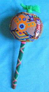 Huichol Ceremonial Rattle