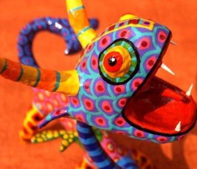 mexican folk art  from oaxacan