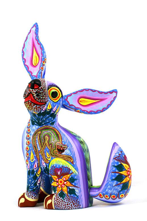 Wood art crafts alebrijes tex mex folk oaxacan
