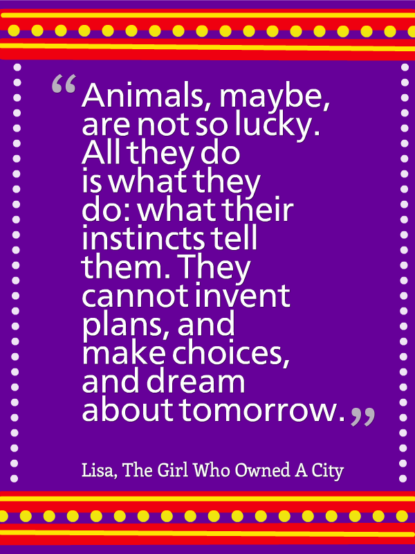 the girl who owned a city pdf